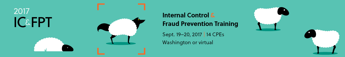 AGA 2017 Internal Control & Fraud Prevention Training